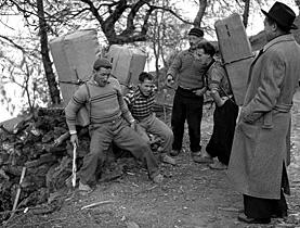 Schmuggler im Tessin 1950#Contrabandists in Ticino 1950