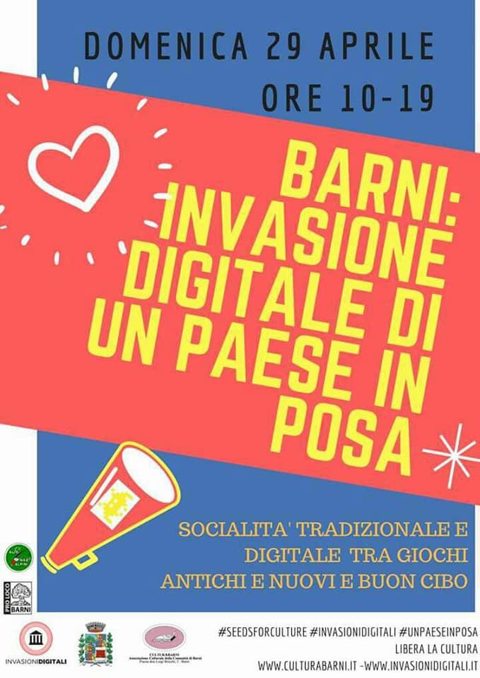 barni 29 aprile 2018 Invasione digitale di Un paese in posa Photography